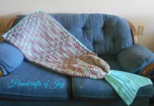 Waterlily Mermaid Lapghan